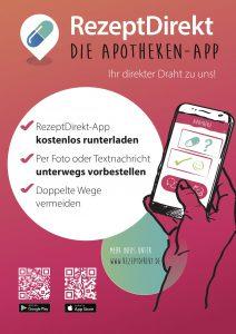 Vorbestellung per RezeptDirekt App in der Rosen-Apotheke Hürth